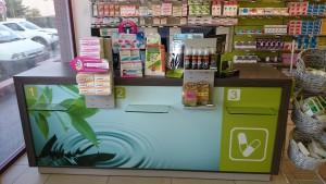 comptoir de vente pharmacie